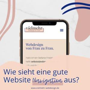 Wie sieht eine gute Website Navigation aus