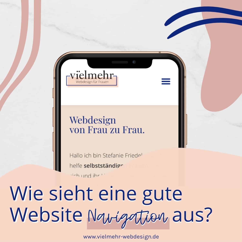 Wie sieht eine gute Website Navigation aus?
