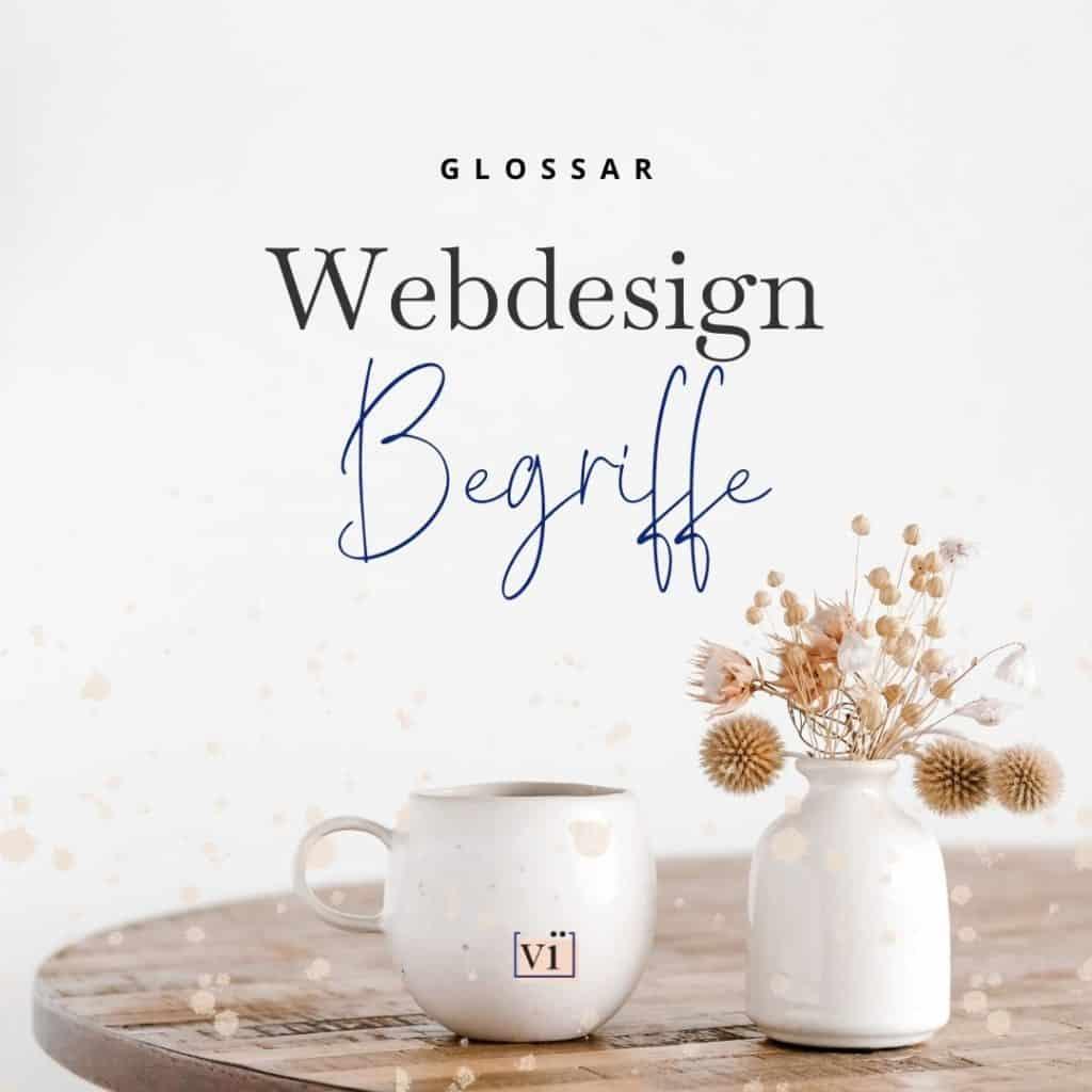 webdesign begriffe