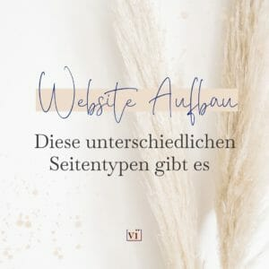Website-Aufbau